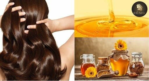 Bí quyết làm tóc dày từ mật ong