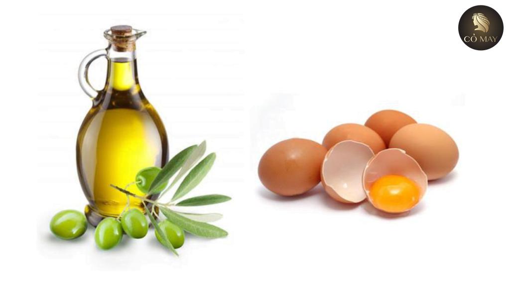 Bí quyết làm tóc dày từ trứng và olive