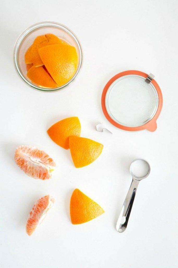 """Vỏ cam là một trong nhũng nguyên liệu """"tiện cả đôi đường"""""""