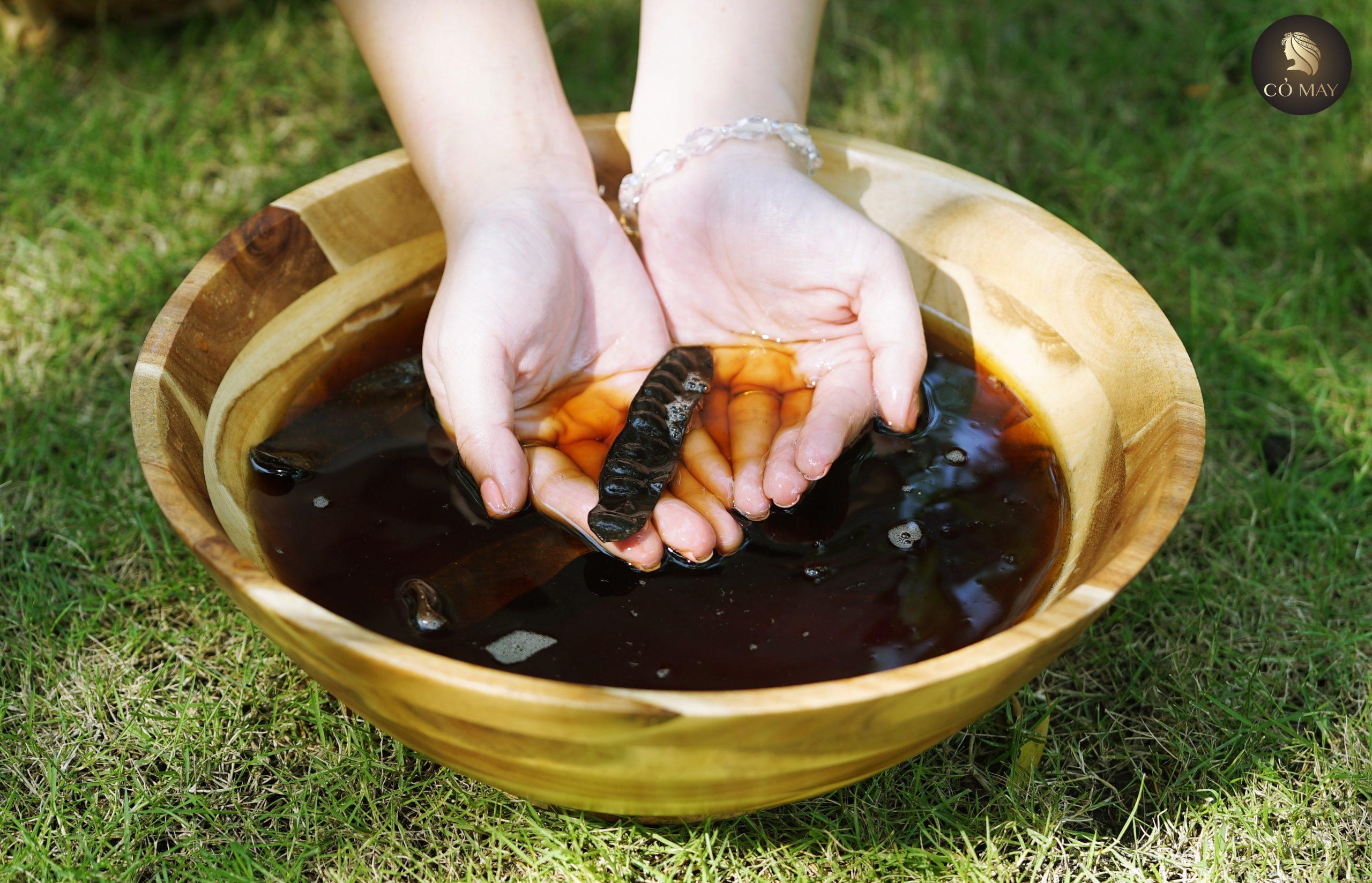 cách nấu nước bồ kết