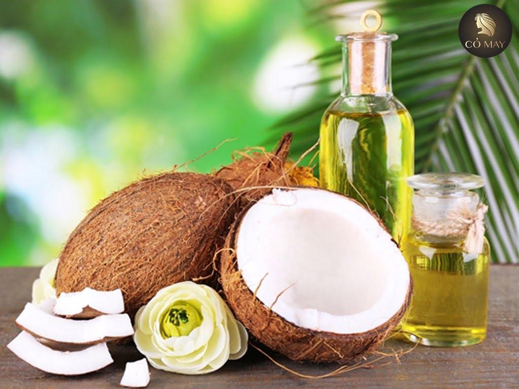 Tác dụng hiệu quả của dầu dừa tới mái tóc