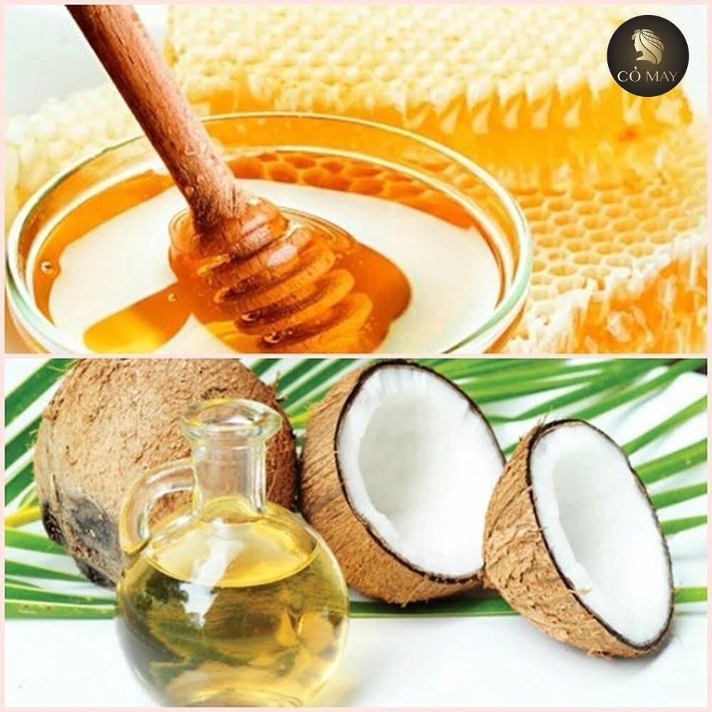 Sự kết hợp dầu dừa và mật ong