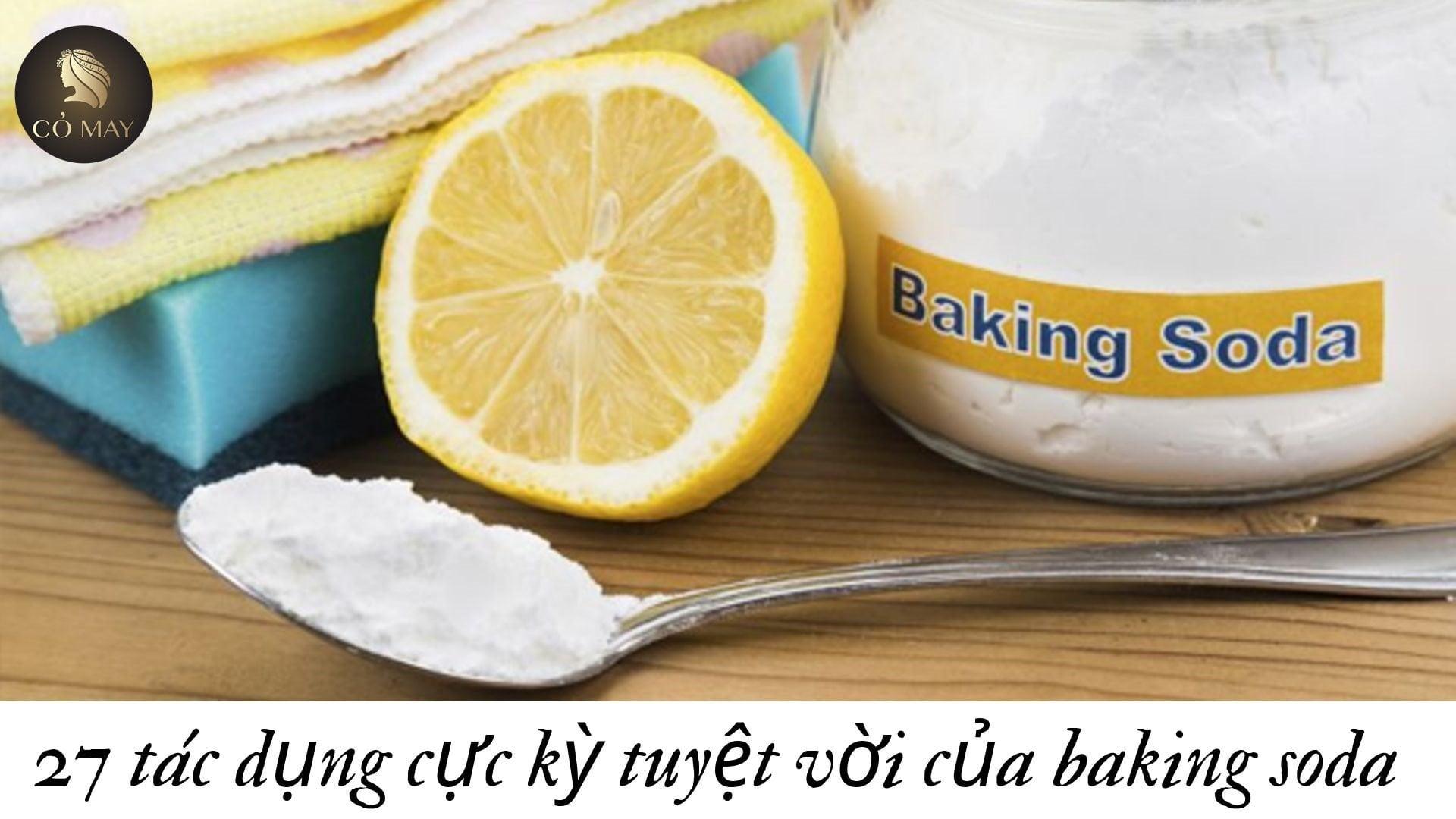 Mẹo trị gàu cho tóc nhuộm bằng baking soda