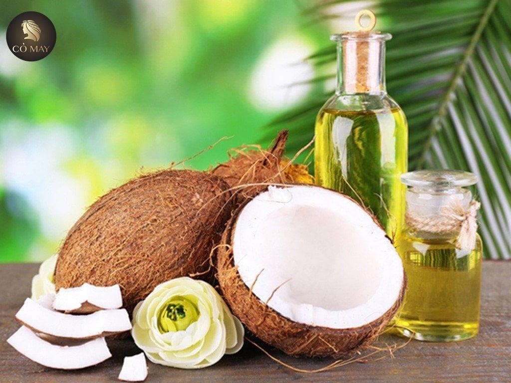 Mẹo trị gàu cho tóc nhuộm bằng dầu dừa